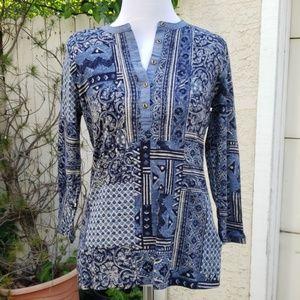 Ralph Lauren patterned top